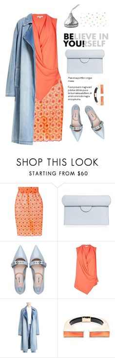 """""""Untitled #2086"""" by vinograd24 ❤ liked on Polyvore featuring Daizy Shely, Roksanda, Miu Miu, River Island, Robert Rodriguez and Alexis Bittar"""