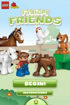 Farm Friends App #LegoDuploParty