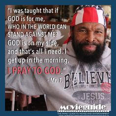 You can't pity Mr. T! #MrT