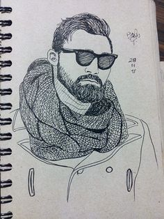 Man/Beard/Glasses/Outfit