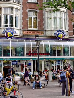 The iconic Bulldog coffeeshop (cannabis cafe) -- located inside a former police station at Leidseplein in Amsterdam -- will not have to close after all: http://www.dutchamsterdam.nl/3485-amsterdam-coffeeshops-phased-out