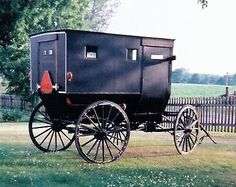 Amish Family Storm Buggy. Price: $2500.00 firm.