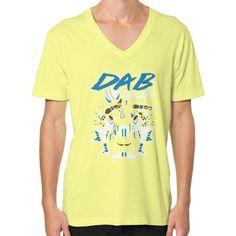 Dab On Em shirt V-Neck (on man) Shirt