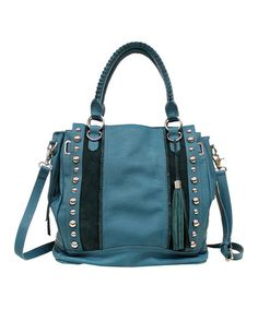 Look what I found on #zulily! Turquoise Karina Tote by Jessica Simpson Collection #zulilyfinds