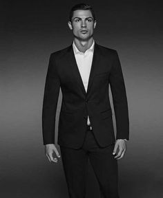 Cristiano Ronaldo is one of the world's most talented soccer players, a successful entrepreneur, a and his unique sense of makes him a style icon. Read on about our Style Icon of the Week! Cristiano Ronaldo Portugal, Cristiano Ronaldo Junior, Ronaldo Juventus, Mens Tux, Mens Suits, Portugal National Team, Fc Chelsea, Good Soccer Players, Raining Men