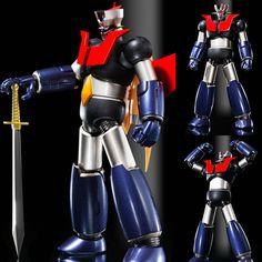 Super Robot Chogokin Mazinger Z Kurogane (Dark Iron) Finish  Now Available In Stock from: www.figurecentral.com.au  #superrobotchogokin #mazingerz #bandai #figurecentral