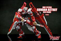 GUNDAM GUY: 1/100 MBF-P02KAI Gundam Astray Red Frame - Customized Build