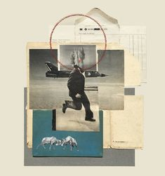 A nice mix of collage and embroidery by artist Rhed Fawell, currently based in Edinburgh, Scotland. Collage Design, Collage Art, Collage Ideas, Illustration Sketches, Graphic Design Illustration, Graphic Design Posters, Graphic Design Inspiration, Sketchbook Inspiration, Community Art