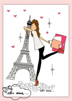 This will be me when I make it to Paris someday. Someday...