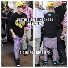 justin bieber funny fashion