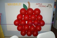 Tangled Rapunzel party game pinata maximus apple picking