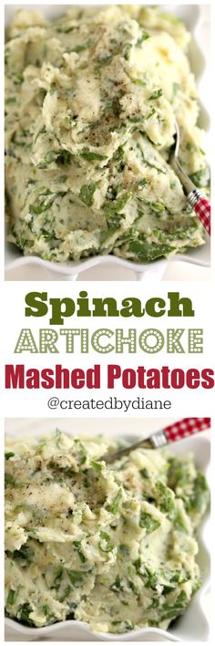 spinach-and-artichoke-mashed-potatoes-with-garlic-and-onions ...