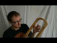 ▶ Sutton Hoo Lyre replica by Michael J King part 1 of 2 - YouTube