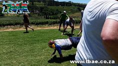 Pragma Boeresports team building event in Stellenbosch, facilitated and coordinated by TBAE Team Building and Events Team Building Events, Team Building Activities, Team Building Exercises, Cape Town, Games, Sports, Projects, Hs Sports, Log Projects