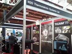 Thermoteknix' stand N20 at Counter Terror Expo 2013
