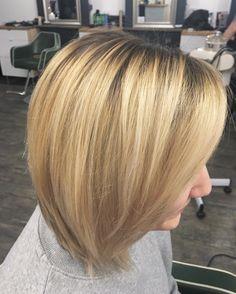 Cut Splice Boston - blonde bob balayage