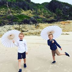 This Navy bow tie and beige linen bow tie were custom made for these gorgeous boys at a beach wedding.  Lime Hippo creates dapper, stylish and downright cool clothing for children. Use the code PINTEREST for 10% off in our shop.
