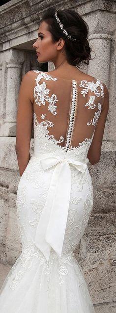 Milla Nova 2016 Wedding Dresses / www.deerpearlflow...