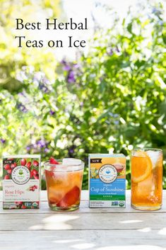 Our Best Herbal Teas on Ice