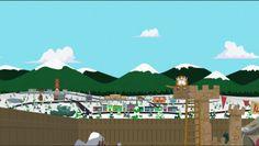 South Park the Stick of Truth Landscape