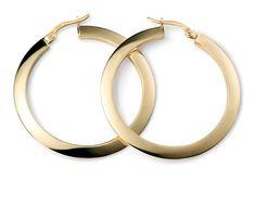 f48d97869 Gold Hoop Earrings by ArahJames on Etsy Gold Hoop Earrings, Gold Hoops,  London,