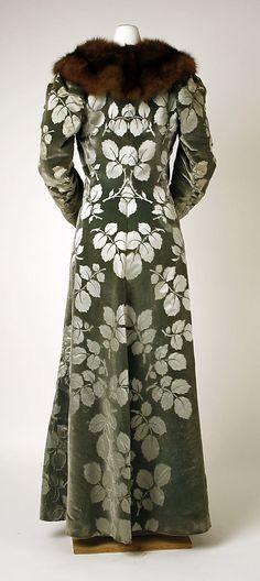 Evening coat      Charles Frederick Worth      1894