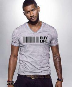 "Usher Raymond - Alicia Keyes Keep A Child Alive  ""BUY LIFE"" campaign"