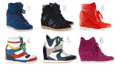 new shoes on the block Wedge Sneakers  www.caviartaste.com