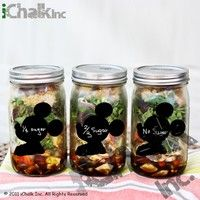 I think you'll like Mickey Mouse Side Head Chalkboard Labels Tag Shape Set of 10 for Wine Bottles Closet Boxes Jars Vases Home Canning Food Storage Organization. Add it to your wishlist!  http://www.wish.com/c/53dd6e6b79b8730eeaaa5fe2