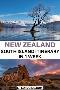 Check out this post on road tripping through New Zealand South Island in 1 week. Visit cities such as Wanaka, Christchurch, Milford Sound, and more. One week New Zealand road trip | South Island New Zealand itinerary | New Zealand travel destinations | Beautiful places to go in New Zealand | New Zealand travel tips | New Zealand day hikes | New Zealand South Island photography | New Zealand bucket list | New Zealand South Island map | Things to do in New Zealand | NZ travel guide #LifeOfDoing Cool Places To Visit, Places To Travel, Travel Destinations, Pacific Destinations, Travel Tips, Travel Articles, New Zealand Itinerary, New Zealand Travel Guide, Visit New Zealand