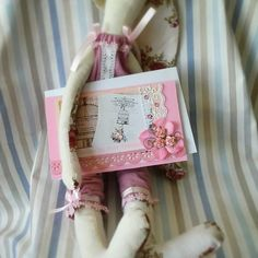 Shabby shic style card