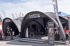 GoPro | X-GLOO 6x6 with Canopies and Tunnel Parts
