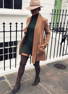 20 Stylish Ways To Wear Over The Knee Boots This Year | Postris