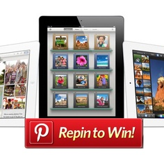 Pinterest Repin to WIN a New IPAD!!!  http://www.imnick.net/ipad2