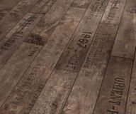 I so want this wood floor! What an original idea! great for rustic vacation home
