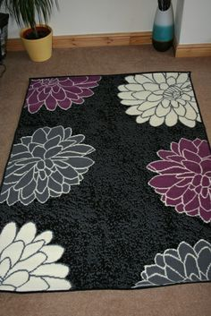 1000 images about bedroom on pinterest diy headboards for Plum and cream rug