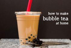 How to Make Bubble Tea (Boba) at Home | Blog | NoshOn.It