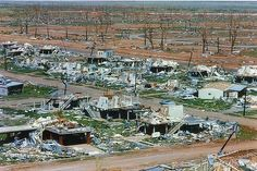Cyclone Tracy, December 1974.