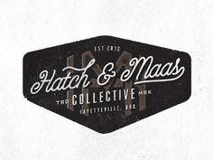 Dribbble - Hatch & Maas by Jeremy Teff