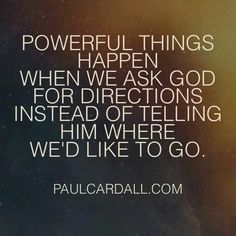 From such a wise man. Love Paul Cardall