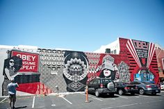 Too bad this is gone. It was gorgeous. Thanks Shepard Fairey.
