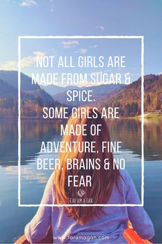 A little inspiring quote to remind us of Girl Power. #inspirational #travel #quotes