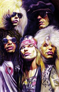 Bad boys, bad boys... whatcha gonna do when they come for you... (I have a few ideas!) GUNS N ROSES!