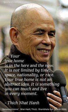 Wise words from Thich Nhat Hanh Buddhist Wisdom, Buddhist Quotes, Spiritual Quotes, Wisdom Quotes, Positive Quotes, Life Quotes, Spiritual Awakening, Spiritual Thoughts, Peace Quotes