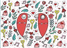 Anniversary & Valentines Card Print Handmade Items, Handmade Gifts, 50th Anniversary, Valentines, Unique Jewelry, Cards, Etsy, Kid Craft Gifts, Valentine's Day Diy