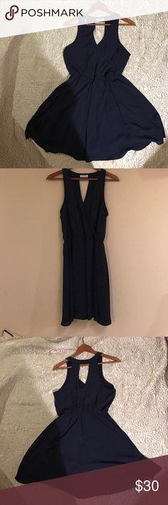 Lush Dress Navy Blue Lush Dress Lush Dresses
