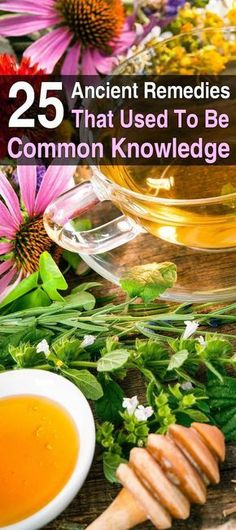 Home remedies and herbal cures are as ancient as mankind itself. Take a look at these simple home remedies that used to be common knowledge
