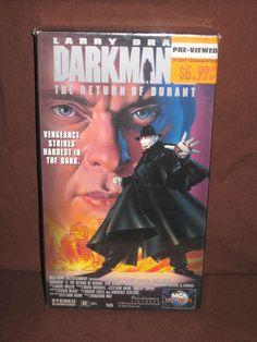 DARKMAN THE RETURN OF DURANT VHS (1994)