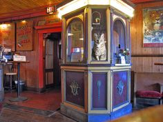 Old Ticket Booth | Flickr - Something that may transform the old aquarium platforms in basement
