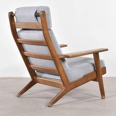 Hans Wegner GE290 Lounge Chair for Getama, Denmark 2